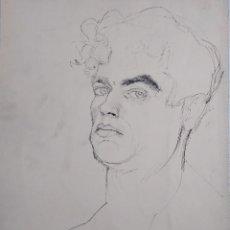 Arte: JOSÉ BOVER BENNASSAR. AUTORRETRATO. Lote 167562316