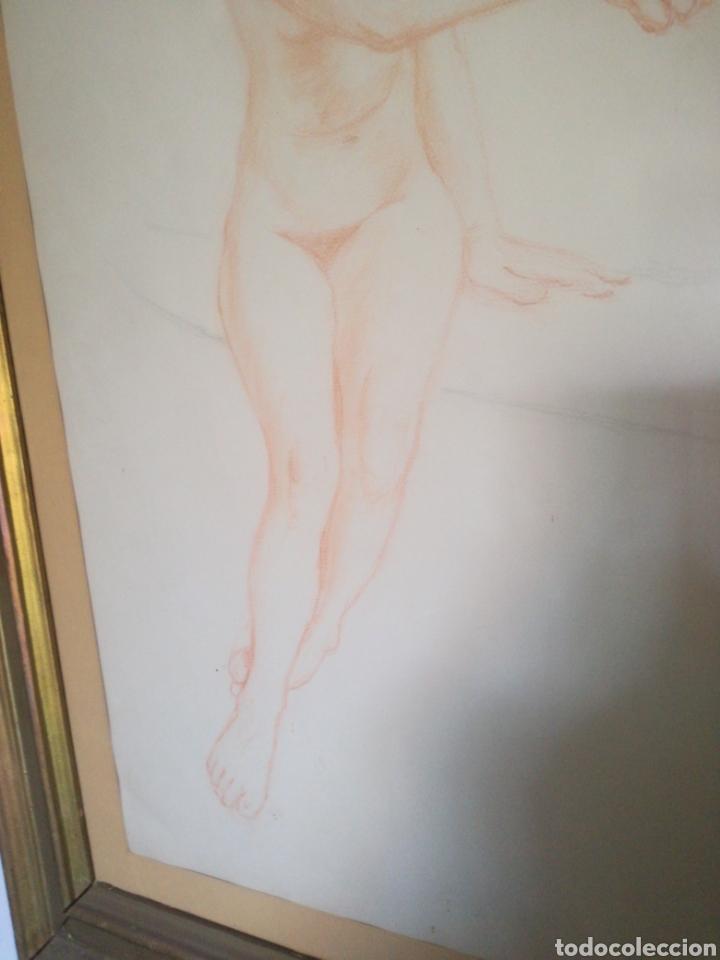 Arte: DIBUJOS ENMARCADOS DESNUDO FEMENINO - Foto 3 - 167668022