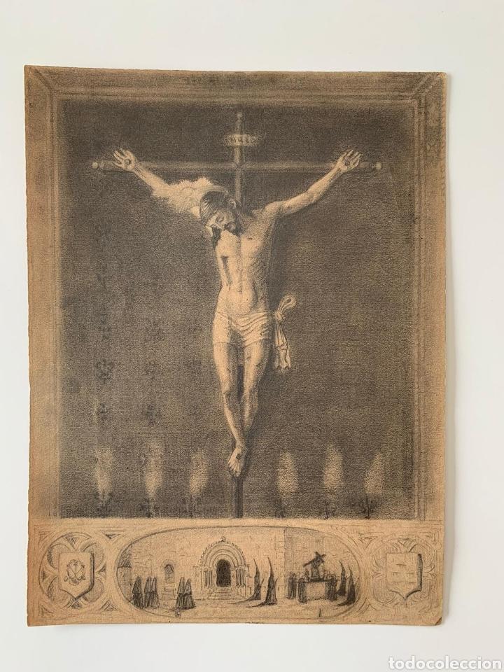CARBONCILLO SIGLO XVIII (Arte - Dibujos - Antiguos hasta el siglo XVIII)
