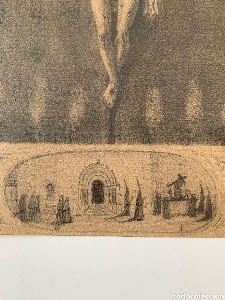 Arte: Carboncillo siglo XVIII - Foto 2 - 167942322
