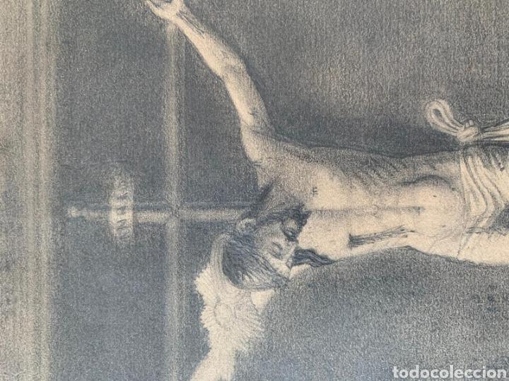 Arte: Carboncillo siglo XVIII - Foto 3 - 167942322