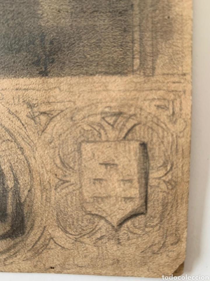 Arte: Carboncillo siglo XVIII - Foto 4 - 167942322