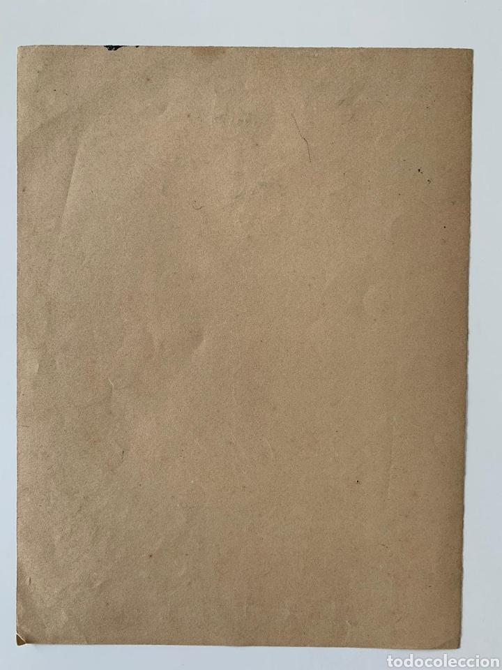 Arte: Carboncillo siglo XVIII - Foto 5 - 167942322
