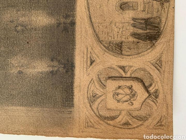 Arte: Carboncillo siglo XVIII - Foto 6 - 167942322