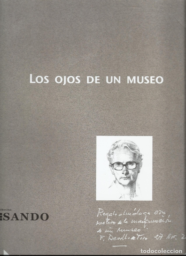 FELIX REVELLO DE TORO LOS OJOS DE UN MUSEO TRÍPTICO CON 3 LAMINAS MUY BUEN ESTADO FOTOS CON SOMBRAS (Arte - Dibujos - Contemporáneos siglo XX)