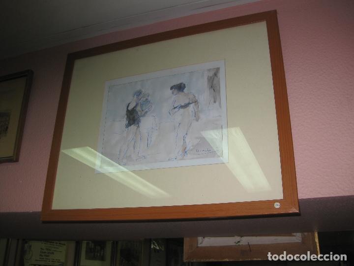 DIBUJO EROTICO DE DIONIS ROMEU. (Arte - Dibujos - Contemporáneos siglo XX)