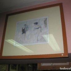 Arte: DIBUJO EROTICO DE DIONIS ROMEU.. Lote 168056798