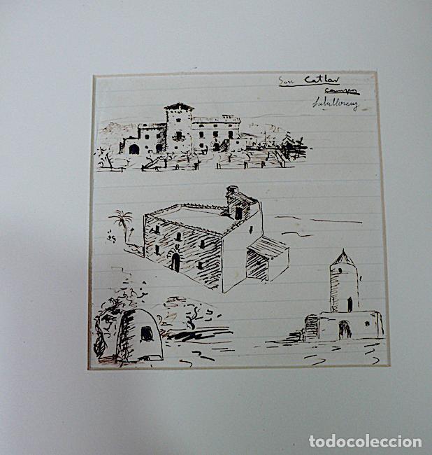 SALALLOREY, DIBUJO ORIGINAL FIRMADO (Arte - Dibujos - Contemporáneos siglo XX)