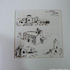 Arte: SALALLOREY, DIBUJO ORIGINAL FIRMADO. Lote 169231552