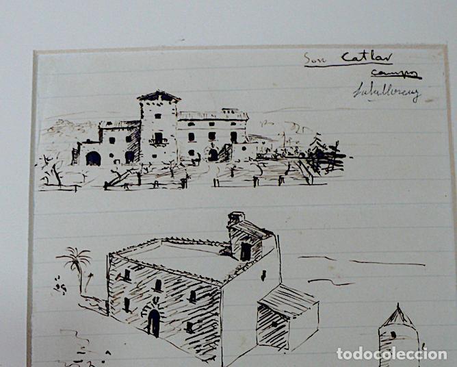 Arte: SALALLOREY, DIBUJO ORIGINAL FIRMADO - Foto 2 - 169231552