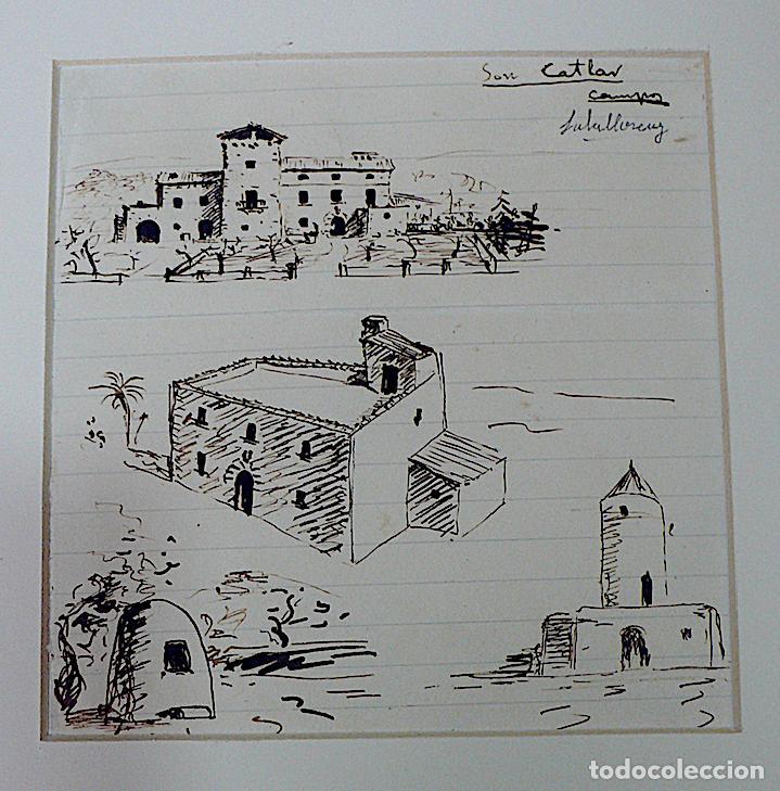 Arte: SALALLOREY, DIBUJO ORIGINAL FIRMADO - Foto 3 - 169231552