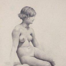 Arte: JOSEP Mª MARQUÉS PUIG (1890-1950) DESNUDO FEMENINO, AÑO 1930. LÁPIZ SOBRE PAPEL. MARCO: 32X44CM.. Lote 169423272