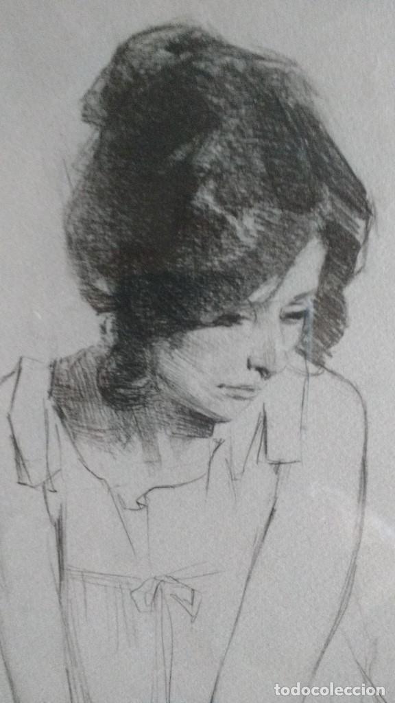 Arte: DIBUJO ORIGINAL A LAPIZ DE F.REVELLO DE TORO, DEDICADO, FIRMADO Y FECHADO EN 1981 - Foto 3 - 169458484