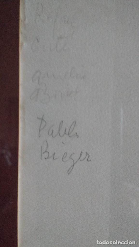 Arte: DIBUJO ORIGINAL A LAPIZ DE F.REVELLO DE TORO, DEDICADO, FIRMADO Y FECHADO EN 1981 - Foto 5 - 169458484