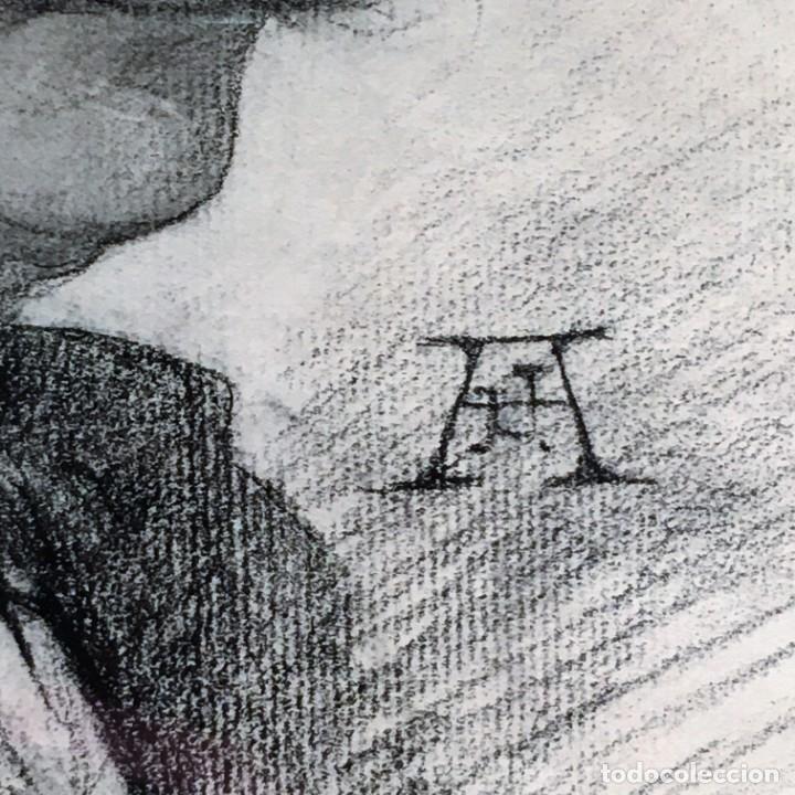 Arte: Autorretrato y cuadernillo de dibujos de José Arija Saiz (Burgos S XIX-Madrid 1920) - Foto 5 - 169460820