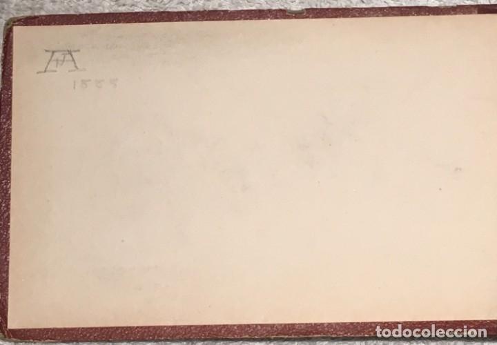 Arte: Autorretrato y cuadernillo de dibujos de José Arija Saiz (Burgos S XIX-Madrid 1920) - Foto 11 - 169460820