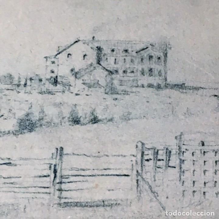 Arte: Autorretrato y cuadernillo de dibujos de José Arija Saiz (Burgos S XIX-Madrid 1920) - Foto 14 - 169460820