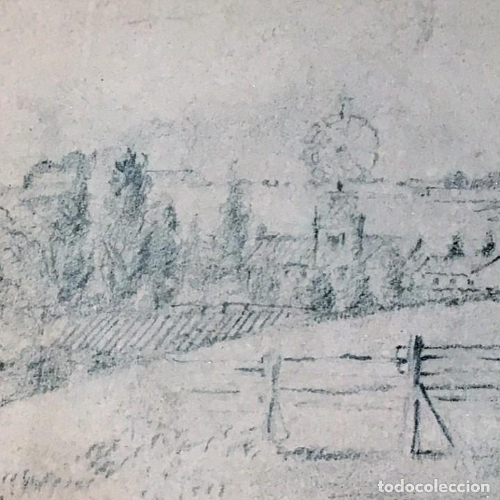 Arte: Autorretrato y cuadernillo de dibujos de José Arija Saiz (Burgos S XIX-Madrid 1920) - Foto 15 - 169460820