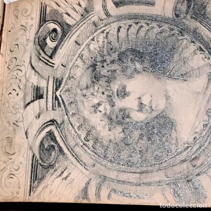 Arte: Autorretrato y cuadernillo de dibujos de José Arija Saiz (Burgos S XIX-Madrid 1920) - Foto 20 - 169460820