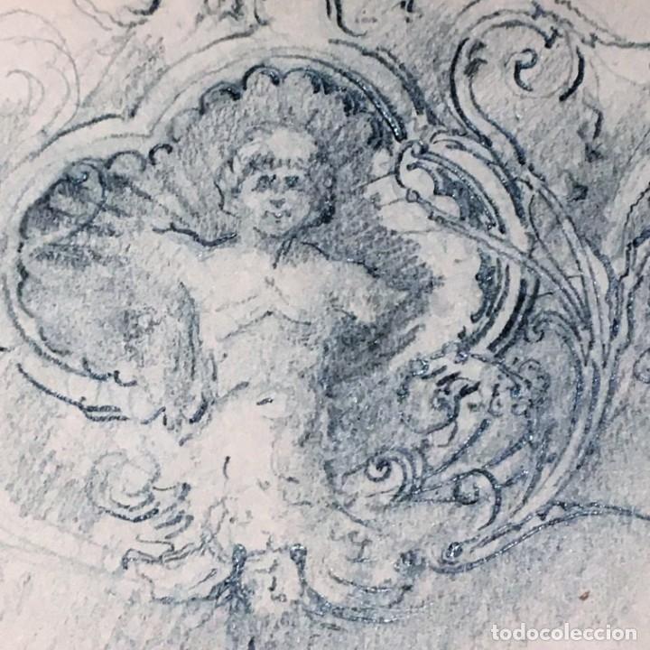 Arte: Autorretrato y cuadernillo de dibujos de José Arija Saiz (Burgos S XIX-Madrid 1920) - Foto 23 - 169460820