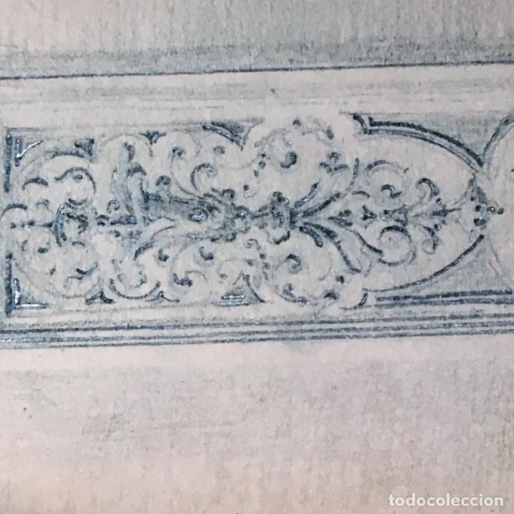 Arte: Autorretrato y cuadernillo de dibujos de José Arija Saiz (Burgos S XIX-Madrid 1920) - Foto 33 - 169460820