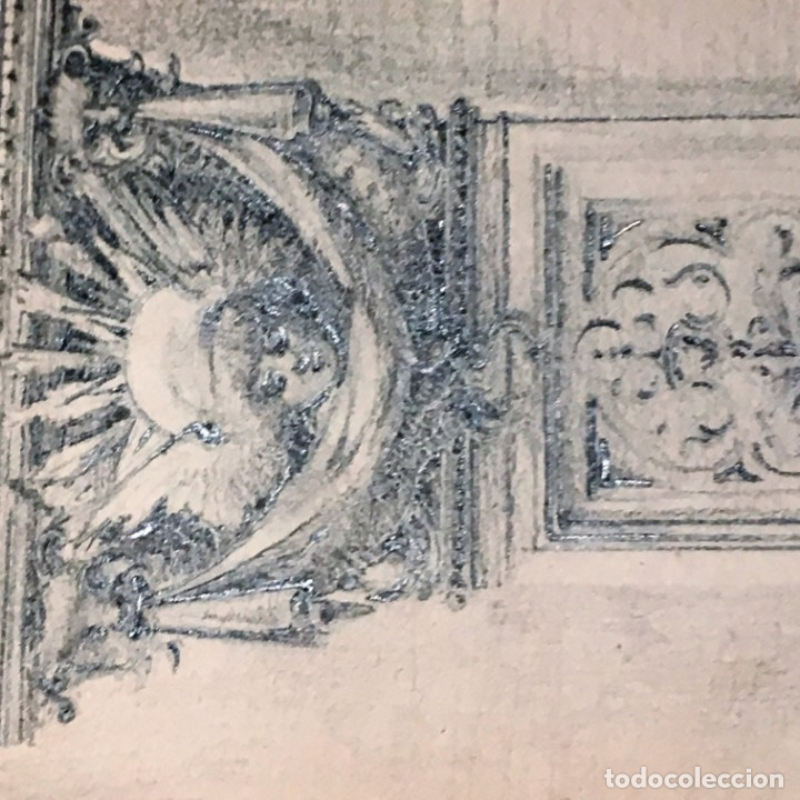 Arte: Autorretrato y cuadernillo de dibujos de José Arija Saiz (Burgos S XIX-Madrid 1920) - Foto 32 - 169460820
