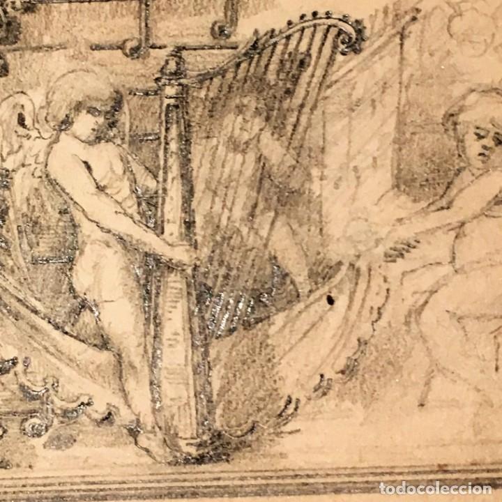 Arte: Autorretrato y cuadernillo de dibujos de José Arija Saiz (Burgos S XIX-Madrid 1920) - Foto 37 - 169460820