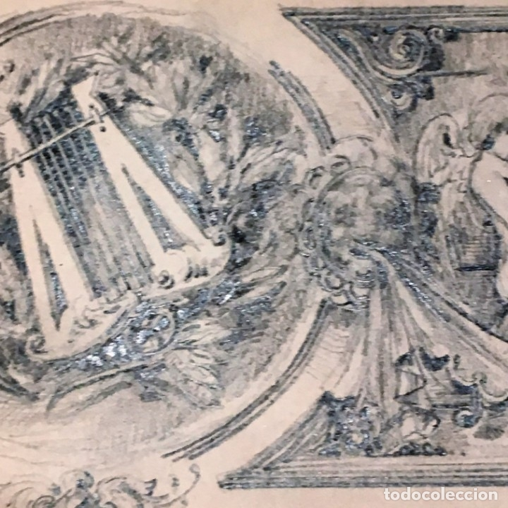 Arte: Autorretrato y cuadernillo de dibujos de José Arija Saiz (Burgos S XIX-Madrid 1920) - Foto 38 - 169460820