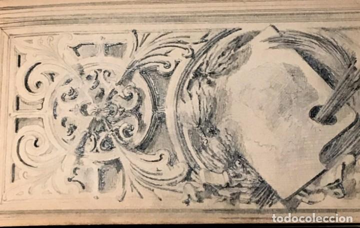 Arte: Autorretrato y cuadernillo de dibujos de José Arija Saiz (Burgos S XIX-Madrid 1920) - Foto 41 - 169460820