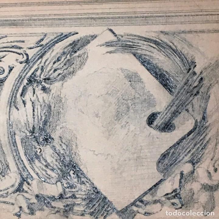 Arte: Autorretrato y cuadernillo de dibujos de José Arija Saiz (Burgos S XIX-Madrid 1920) - Foto 42 - 169460820
