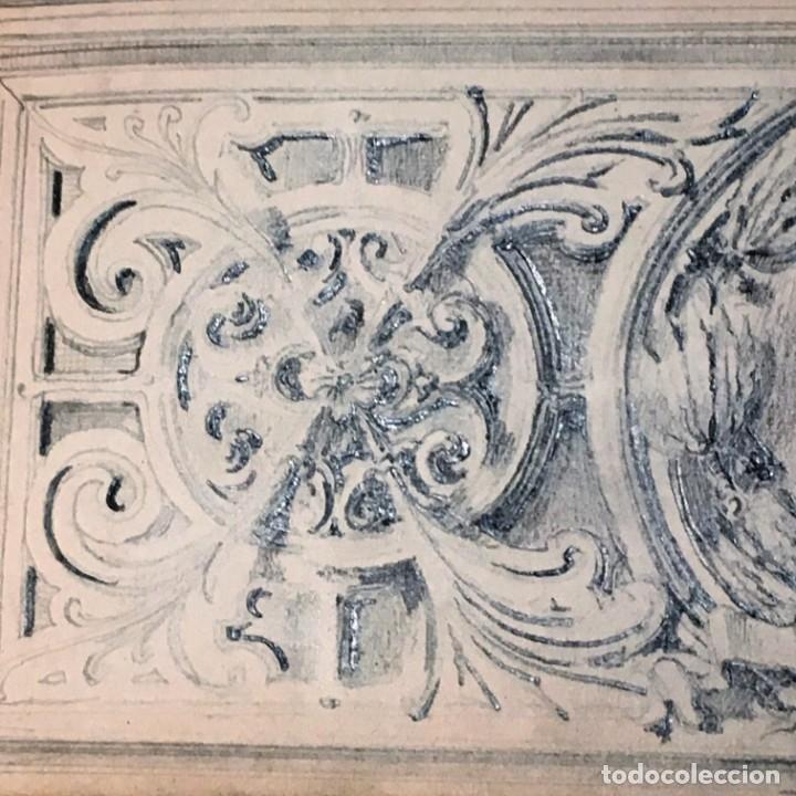Arte: Autorretrato y cuadernillo de dibujos de José Arija Saiz (Burgos S XIX-Madrid 1920) - Foto 43 - 169460820