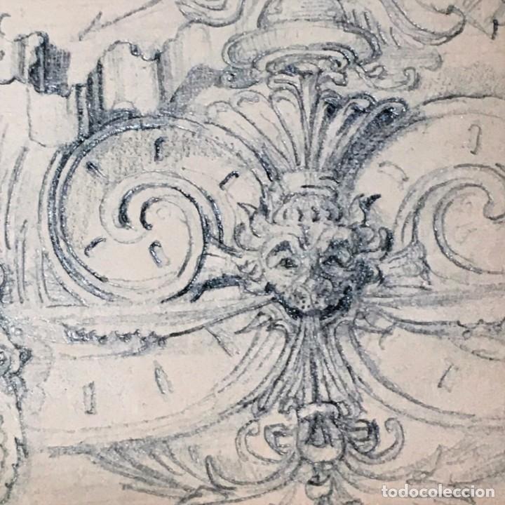 Arte: Autorretrato y cuadernillo de dibujos de José Arija Saiz (Burgos S XIX-Madrid 1920) - Foto 46 - 169460820