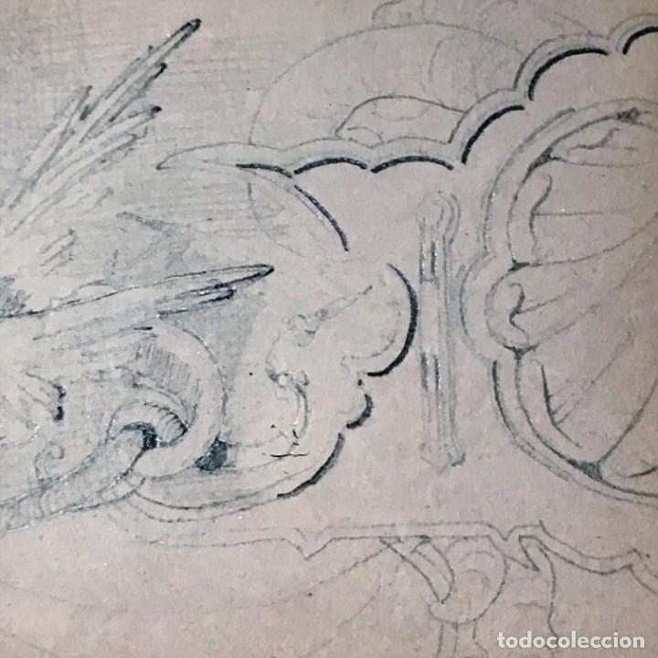 Arte: Autorretrato y cuadernillo de dibujos de José Arija Saiz (Burgos S XIX-Madrid 1920) - Foto 49 - 169460820