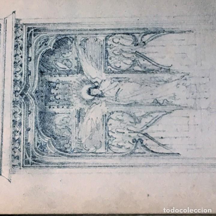 Arte: Autorretrato y cuadernillo de dibujos de José Arija Saiz (Burgos S XIX-Madrid 1920) - Foto 57 - 169460820