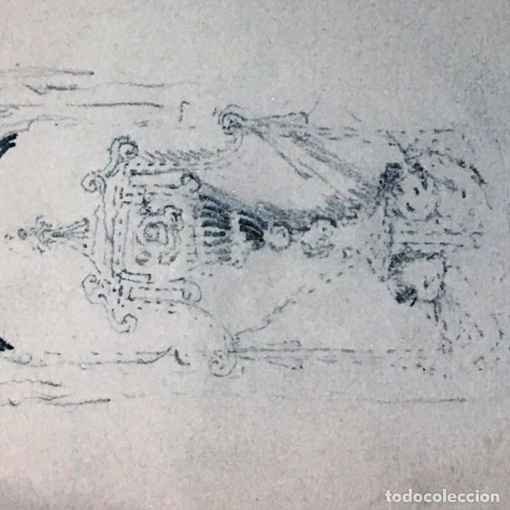 Arte: Autorretrato y cuadernillo de dibujos de José Arija Saiz (Burgos S XIX-Madrid 1920) - Foto 63 - 169460820
