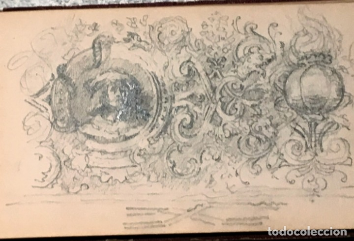 Arte: Autorretrato y cuadernillo de dibujos de José Arija Saiz (Burgos S XIX-Madrid 1920) - Foto 69 - 169460820
