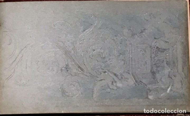 Arte: Autorretrato y cuadernillo de dibujos de José Arija Saiz (Burgos S XIX-Madrid 1920) - Foto 87 - 169460820