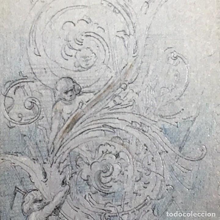 Arte: Autorretrato y cuadernillo de dibujos de José Arija Saiz (Burgos S XIX-Madrid 1920) - Foto 89 - 169460820