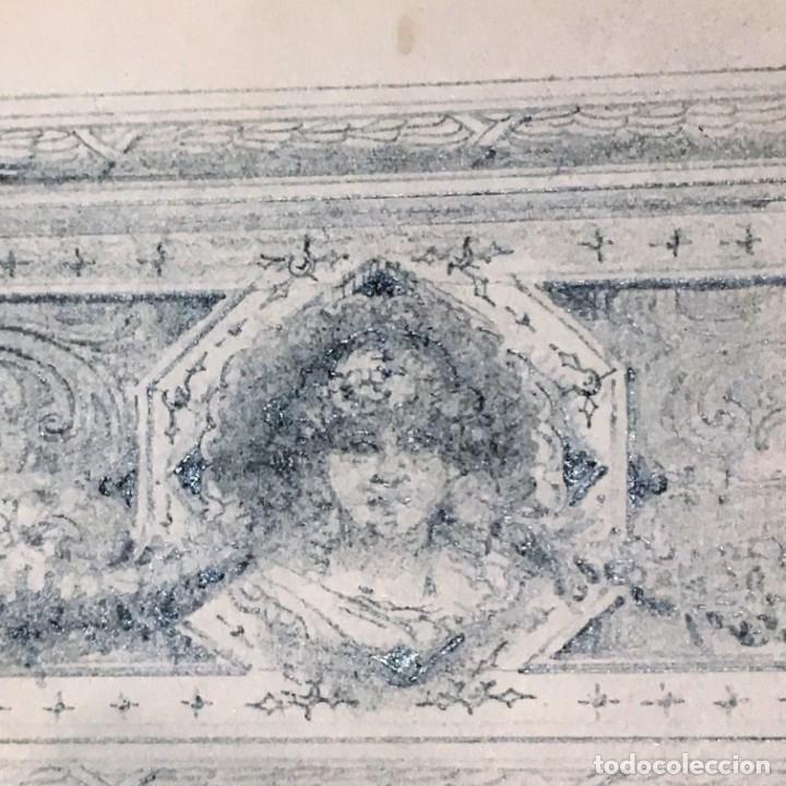 Arte: Autorretrato y cuadernillo de dibujos de José Arija Saiz (Burgos S XIX-Madrid 1920) - Foto 95 - 169460820