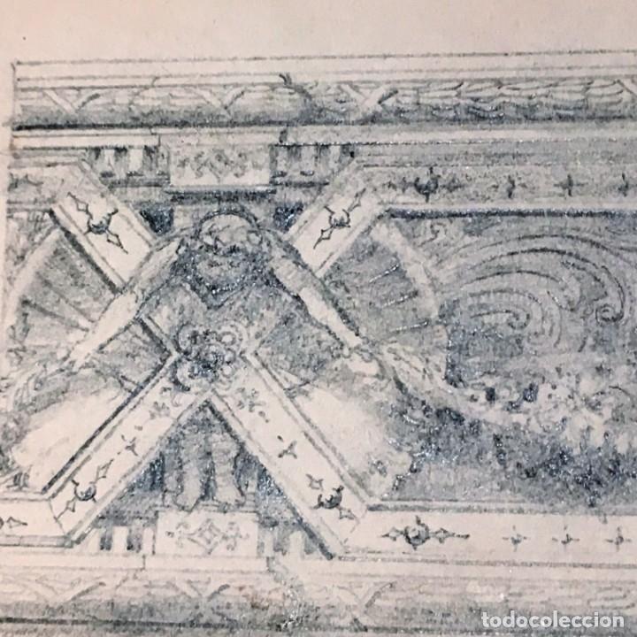 Arte: Autorretrato y cuadernillo de dibujos de José Arija Saiz (Burgos S XIX-Madrid 1920) - Foto 96 - 169460820