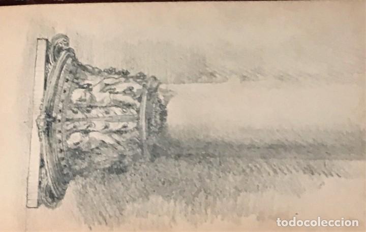 Arte: Autorretrato y cuadernillo de dibujos de José Arija Saiz (Burgos S XIX-Madrid 1920) - Foto 101 - 169460820