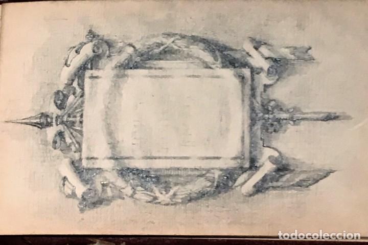 Arte: Autorretrato y cuadernillo de dibujos de José Arija Saiz (Burgos S XIX-Madrid 1920) - Foto 103 - 169460820