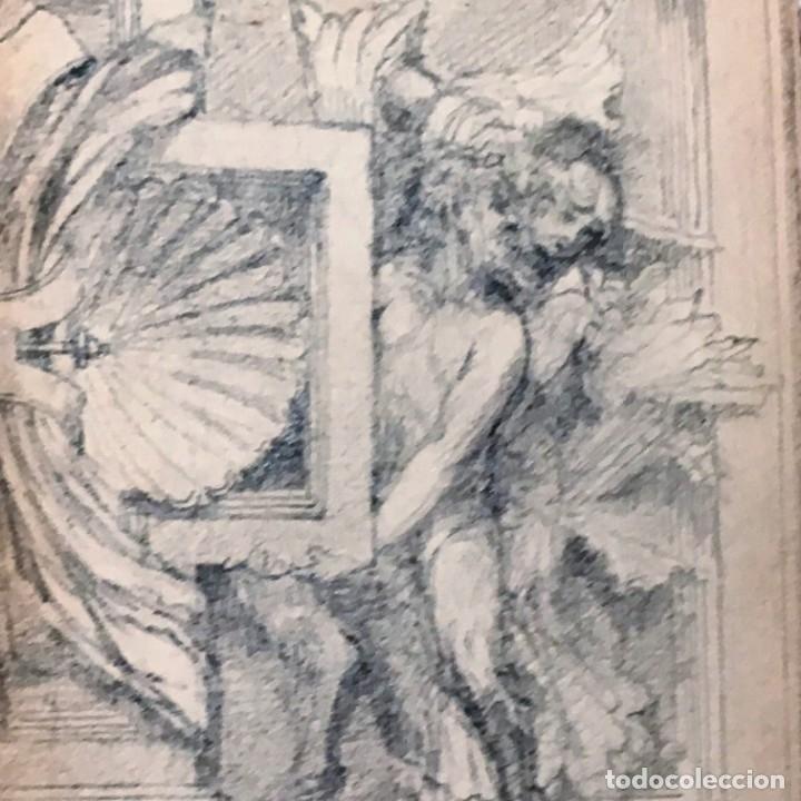 Arte: Autorretrato y cuadernillo de dibujos de José Arija Saiz (Burgos S XIX-Madrid 1920) - Foto 106 - 169460820