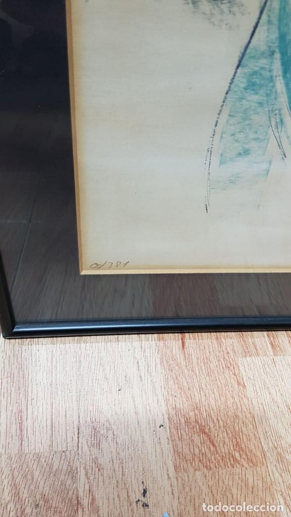 Arte: ANTONI VIVES FIERRO año 87 - BAILARINA - TECNICA MIXTA SOBRE PAPEL - Foto 6 - 169731836