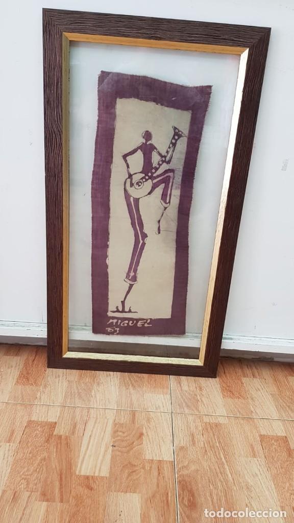 PRECIOSO CUADRO MIGUEL 63 (Arte - Dibujos - Contemporáneos siglo XX)