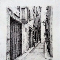 Arte: CHANCHO. DIBUJO ORIGINAL TINTA. Lote 114412727
