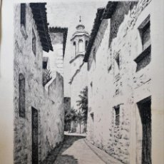 Arte: CHANCHO. DIBUJO ORIGINAL TINTA. Lote 169868628