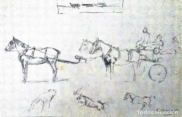 RICARD ARENYS. LOTE 10 DIBUJOS ORIGINALES (Arte - Dibujos - Contemporáneos siglo XX)