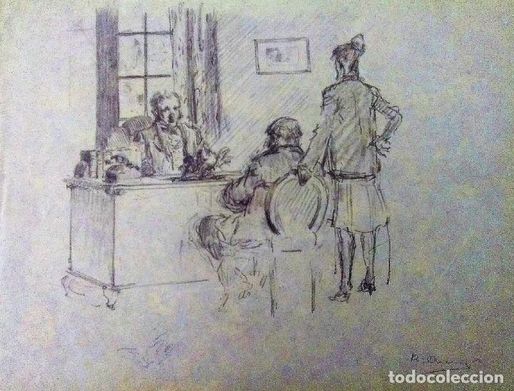 Arte: Ricard Arenys. Lote 10 dibujos originales - Foto 3 - 170095908