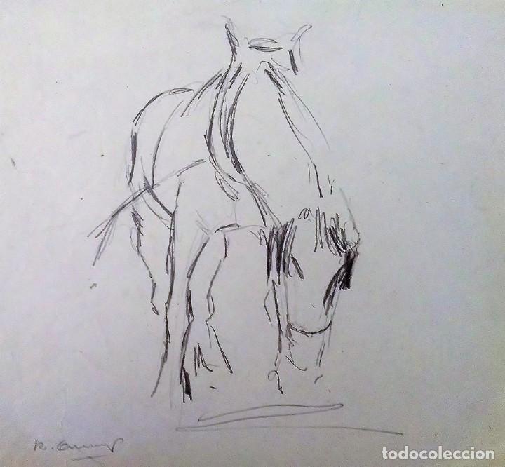Arte: Ricard Arenys. Lote 10 dibujos originales - Foto 4 - 170095908